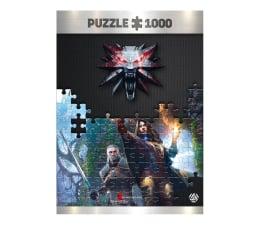 Gadżet/figurka z gry CENEGA The Witcher (Wiedźmin): Yennefer puzzles 1000