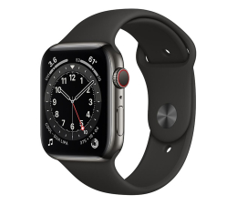 Smartwatch LTE Apple Watch 6 44/Graphite Steel/Black Sport LTE