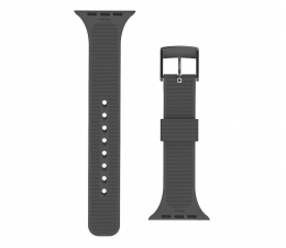 Pasek / bransoletka UAG Pasek Silikonowy [U] DOT do Apple Watch black