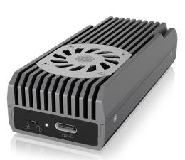 Obudowa dysku ICY BOX Obudowa do dysku M.2 (USB 3.2. Gen 2)