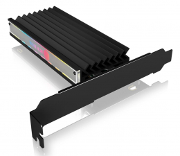 Kontroler ICY BOX Kontroler PCI-E 4.0 - M.2 NVMe (ARGB, do 64 Gbps)