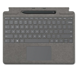 Klawiatura do tabletu Microsoft Type Cover do Surface Pro X + Rysik Concrete