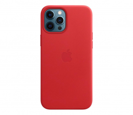 Etui / obudowa na smartfona Apple Skórzane etui iPhone 12 Pro Max (PRODUCT)RED