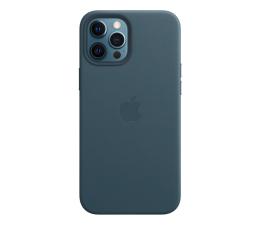 Etui / obudowa na smartfona Apple Skórzane etui iPhone 12 Pro Max bałtycki błękit