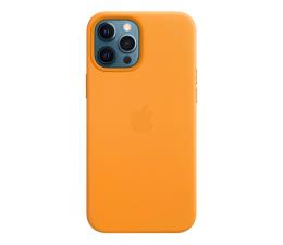 Etui / obudowa na smartfona Apple Skórzane etui iPhone 12 Pro Max kalifornijski mak