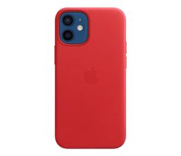 Etui / obudowa na smartfona Apple Skórzane etui iPhone 12 mini (PRODUCT)RED