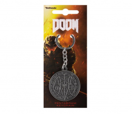 """Brelok z gier KochMedia Brelok Doom """"Pentagram"""""""