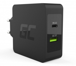 Ładowarka do smartfonów Green Cell Ładowarka sieciowa USB-C 30W PD (QC 3.0)