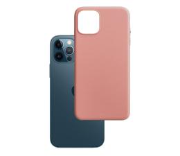 Etui / obudowa na smartfona 3mk Matt Case do iPhone 12/12 Pro lychee