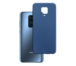 Etui / obudowa na smartfona 3mk Matt Case do Xiaomi Redmi Note 9 Pro blueberry