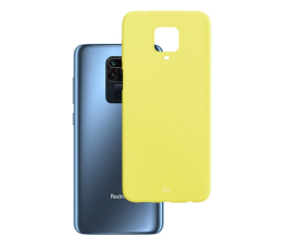 Etui / obudowa na smartfona 3mk Matt Case do Xiaomi Redmi Note 9 Pro lime