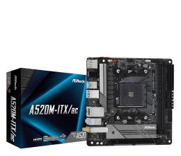 Płyta główna Socket AM4 ASRock A520M-ITX/AC