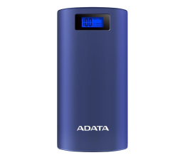 Powerbank ADATA Power Bank AP20000D 20000mAh (2.1A, granatowy)