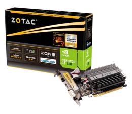 Karta graficzna NVIDIA Zotac GeForce GT 730 ZONE Edition Low Profile 2GB DDR3