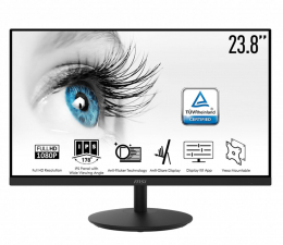"Monitor LED 24"" MSI PRO MP242 czarny"