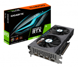 Karta graficzna NVIDIA Gigabyte  GeForce RTX 3060 Ti Eagle OC 8GB GDDR6