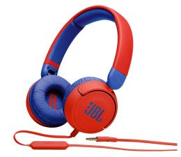 Słuchawki przewodowe JBL JR310 Czerwono-niebieskie