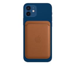Etui / obudowa na smartfona Apple Skórzany portfel iPhone 12 naturalny brąz