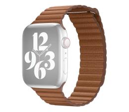 Pasek / bransoletka Apple Pasek skórzany do Apple Watch naturalny brąz
