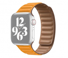 Pasek / bransoletka Apple Pasek z karbowanej skóry Apple Watch kaliforn. mak