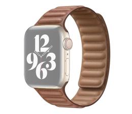 Pasek / bransoletka Apple Pasek z karbowanej skóry Apple Watch brązowy
