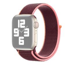 Pasek / bransoletka Apple Opaska Sportowa do Apple Watch dojrzała śliwka