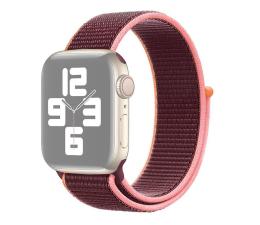Pasek / bransoletka Apple Opaska Sportowa do Apple Watch śliwkowy