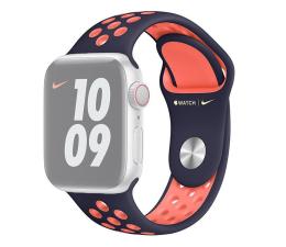 Pasek / bransoletka Apple Pasek Sportowy Nike do Apple Watch niebieski/mango