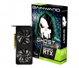 Karta graficzna NVIDIA Gainward GeForce RTX 3060 Ti Ghost OC 8GB