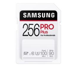 Karta pamięci SD Samsung 256GB SDXC PRO Plus 100MB/s
