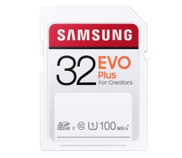 Karta pamięci SD Samsung 32GB SDHC EVO Plus 100MB/s