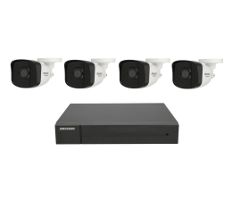 Zestaw do monitoringu Hikvision HWK-N4142BH-MH 4 kamery 2MP IP67, NVR 1TB, PoE