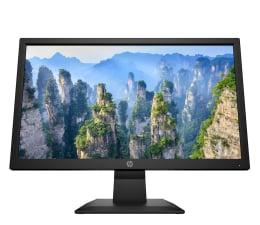 """Monitor LED 21"""" i mniejszy HP V20"""