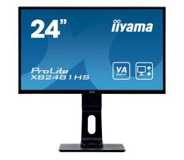 "Monitor LED 24"" iiyama XB2481HS czarny"