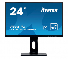 "Monitor LED 24"" iiyama XUB2492HSU czarny"
