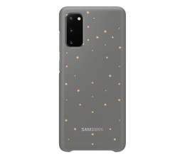 Etui / obudowa na smartfona Samsung LED Cover do Galaxy S20 Gray