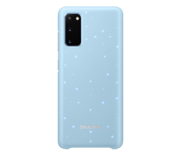 Etui / obudowa na smartfona Samsung LED Cover do Galaxy S20 Sky Blue