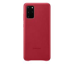 Etui / obudowa na smartfona Samsung Leather Cover do Galaxy S20+ Red