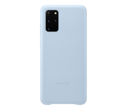 Etui / obudowa na smartfona Samsung Leather Cover do Galaxy S20+ Sky Blue
