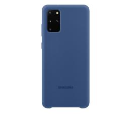 Etui / obudowa na smartfona Samsung Silicone Cover do Galaxy S20+ Navy