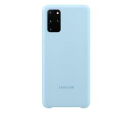 Etui / obudowa na smartfona Samsung Silicone Cover do Galaxy S20+ Sky Blue
