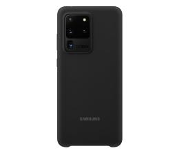 Etui / obudowa na smartfona Samsung Silicone Cover do Galaxy S20 Ultra Black