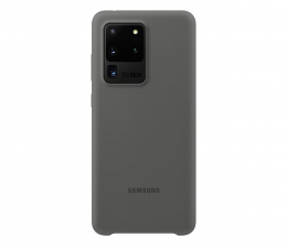 Etui / obudowa na smartfona Samsung Silicone Cover do Galaxy S20 Ultra Gray