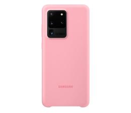 Etui / obudowa na smartfona Samsung Silicone Cover do Galaxy S20 Ultra Pink