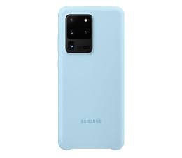 Etui / obudowa na smartfona Samsung Silicone Cover do Galaxy S20 Ultra Sky Blue