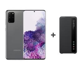 Smartfon / Telefon Samsung Galaxy S20+ G985F Dual SIM Grey + Clear View Cover