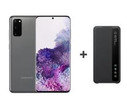 Smartfon / Telefon Samsung Galaxy S20 G980F Dual SIM Grey + Clear View Cover