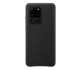 Etui / obudowa na smartfona Samsung Leather Cover do Galaxy S20 Ultra Black