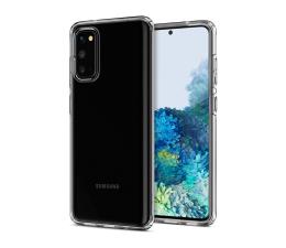 Etui / obudowa na smartfona Spigen Liquid Crystal do Samsung Galaxy S20 Clear