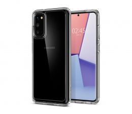 Etui / obudowa na smartfona Spigen Ultra Hybrid do Samsung Galaxy S20 Clear